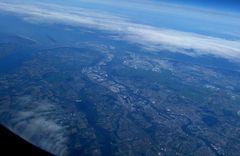 Rotterdam aus dem Flieger:-))