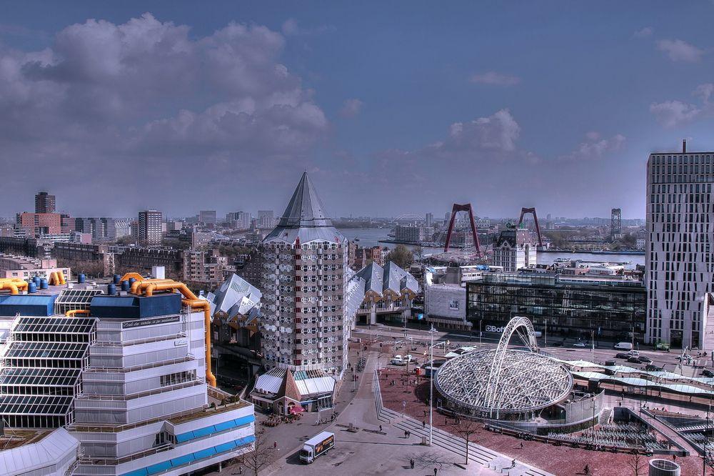 Rotterdam Marktplatz