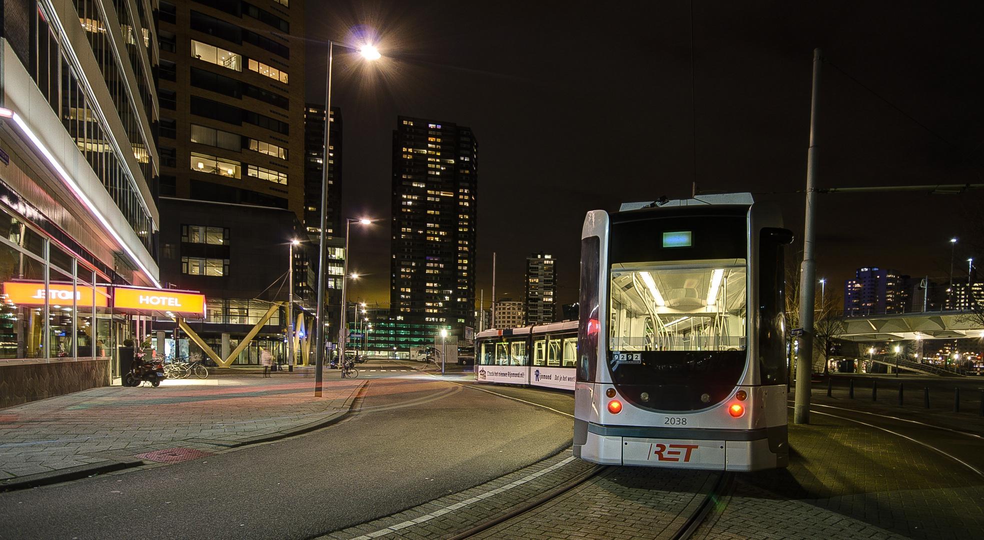 Rotterdam - Willemsplein - Terminus of Tram Number 7