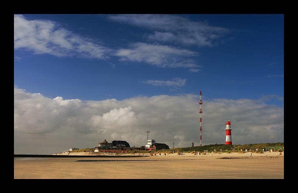 Rotweißer Leuchtturm