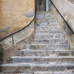 Roubion Treppe