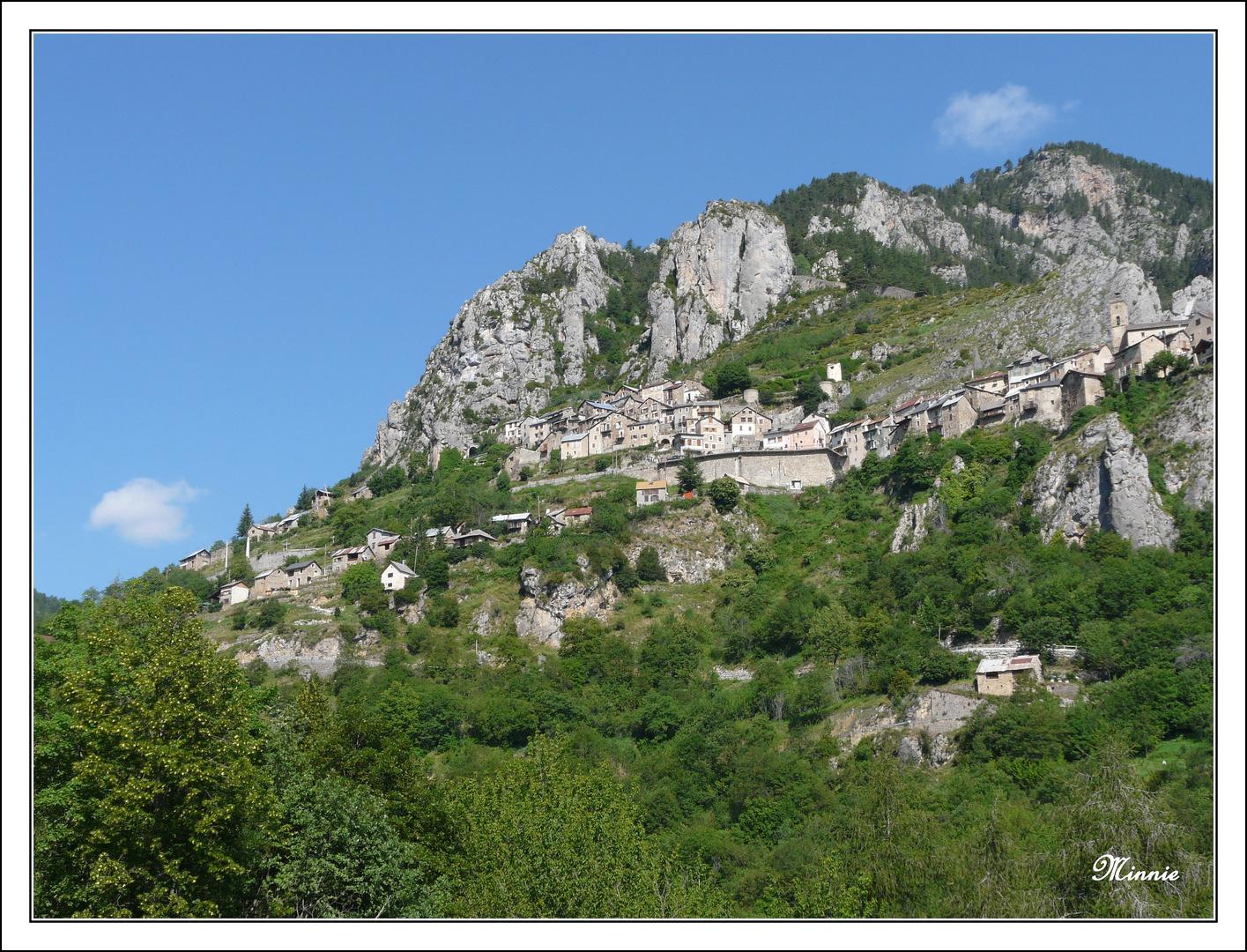 """"""" Roubion, village perché """""""