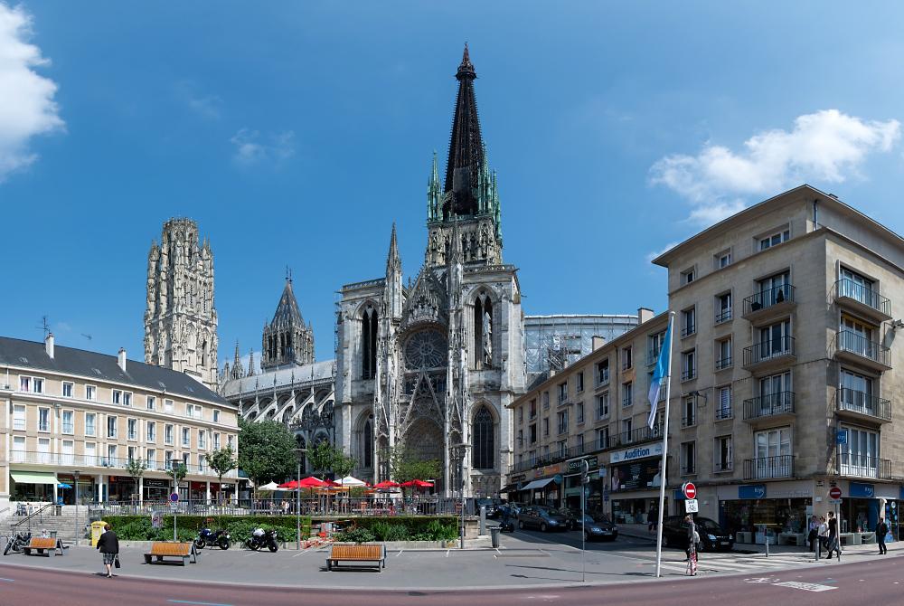 Rouen Kathedralenpano