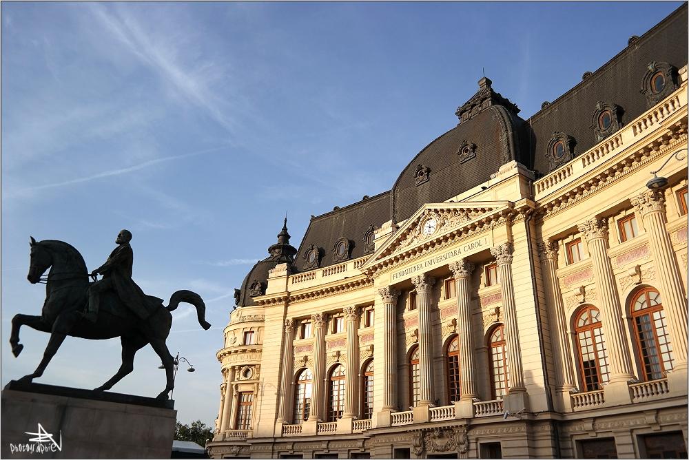 Roumanie - Bucarest - Fondation universitaire