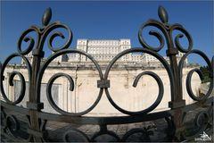 Roumanie - Bucarest - Palais de Nicolae Ceausescu