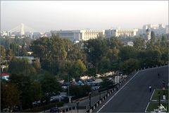 Roumanie - Bucarest - Vue de l'hôtel Marriot