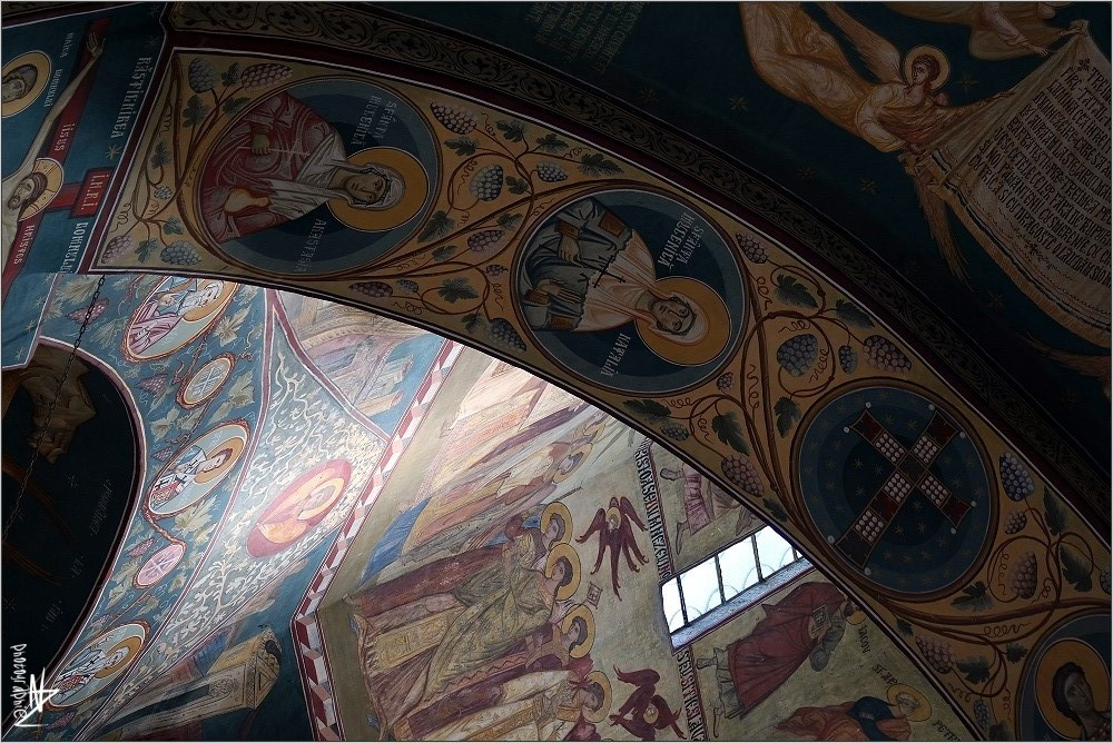 Roumanie - Monastère Saon - env. de Tulcea