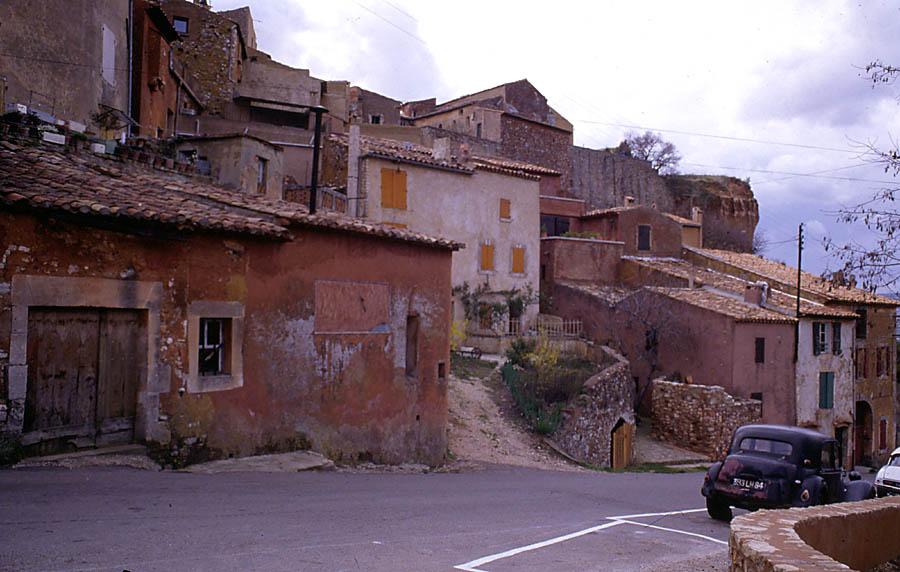 Roussilion im Luberon vor 30 Jahren #1