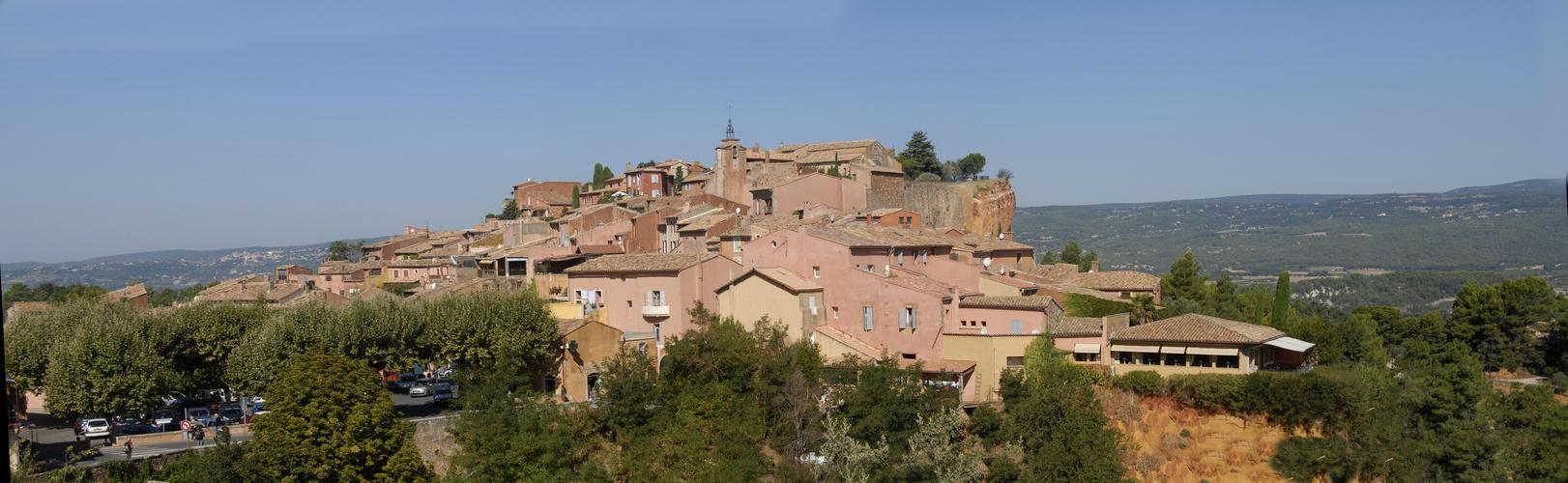 Roussillon panorama