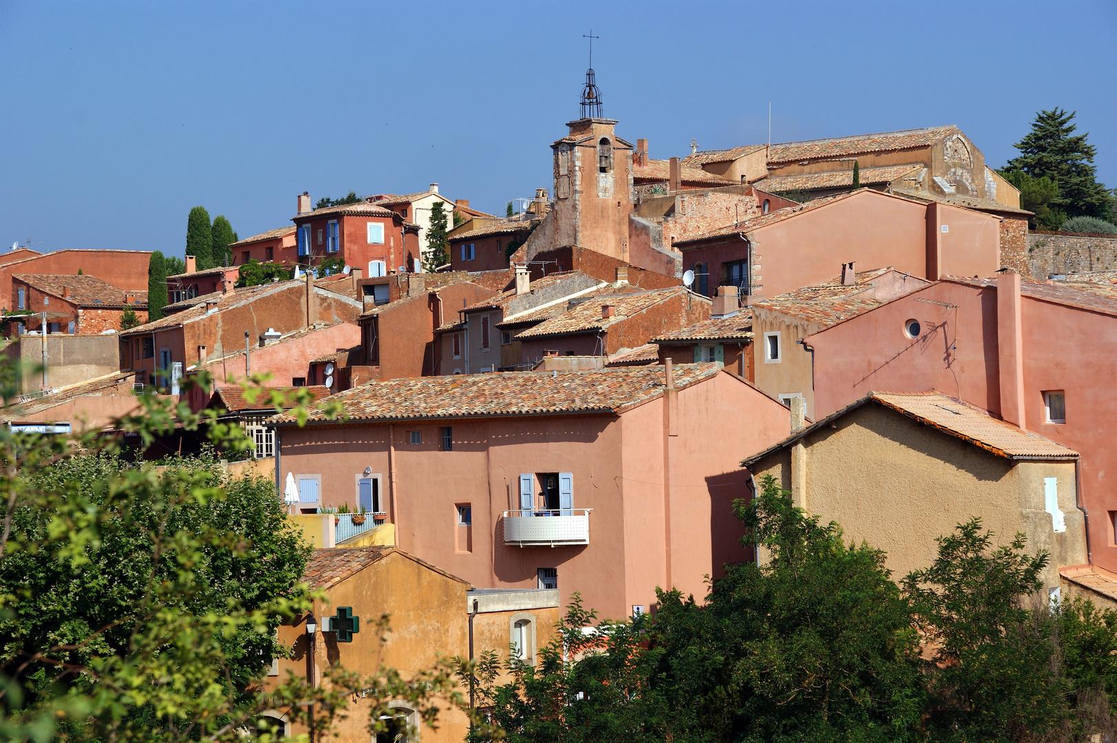 ROUSSILLON (Vaucluse) - France - Juillet 2010 -