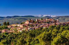 Roussillon, Vaucluse, Provence, Frankreich