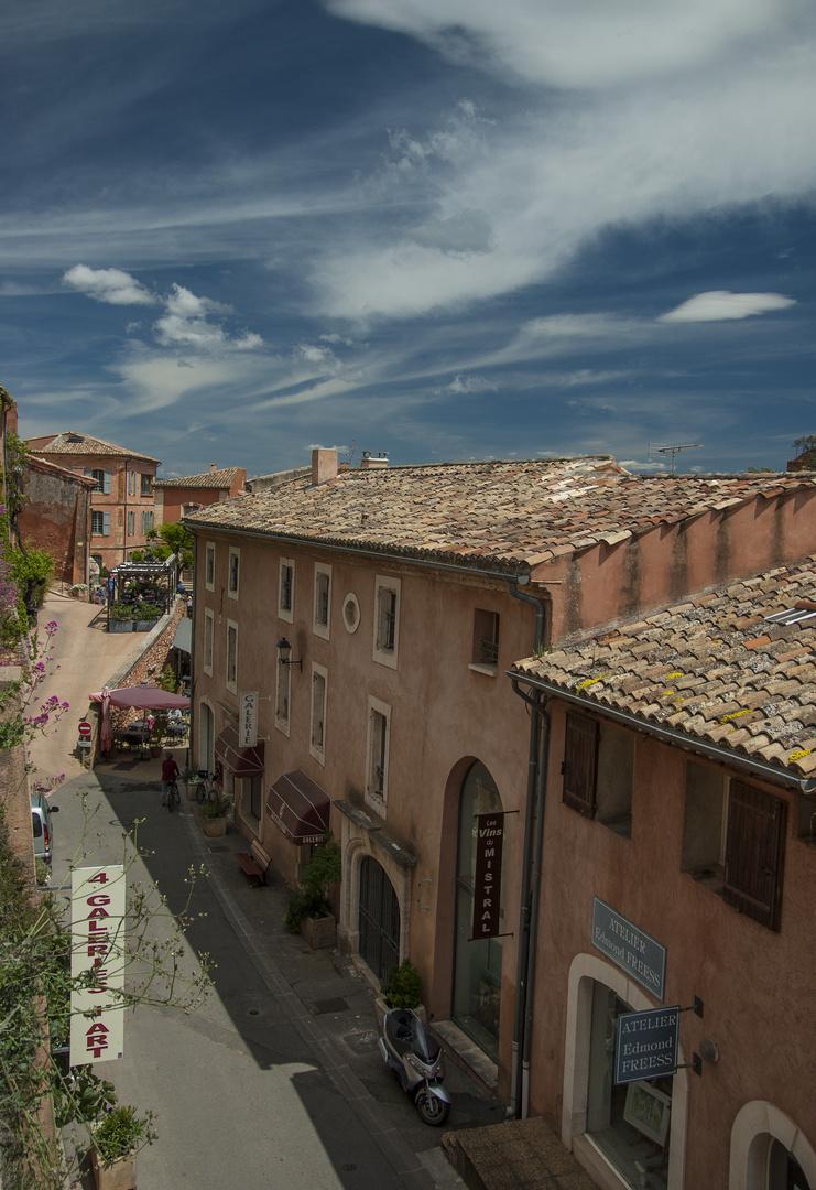 Roussilon, Haute Provence, France