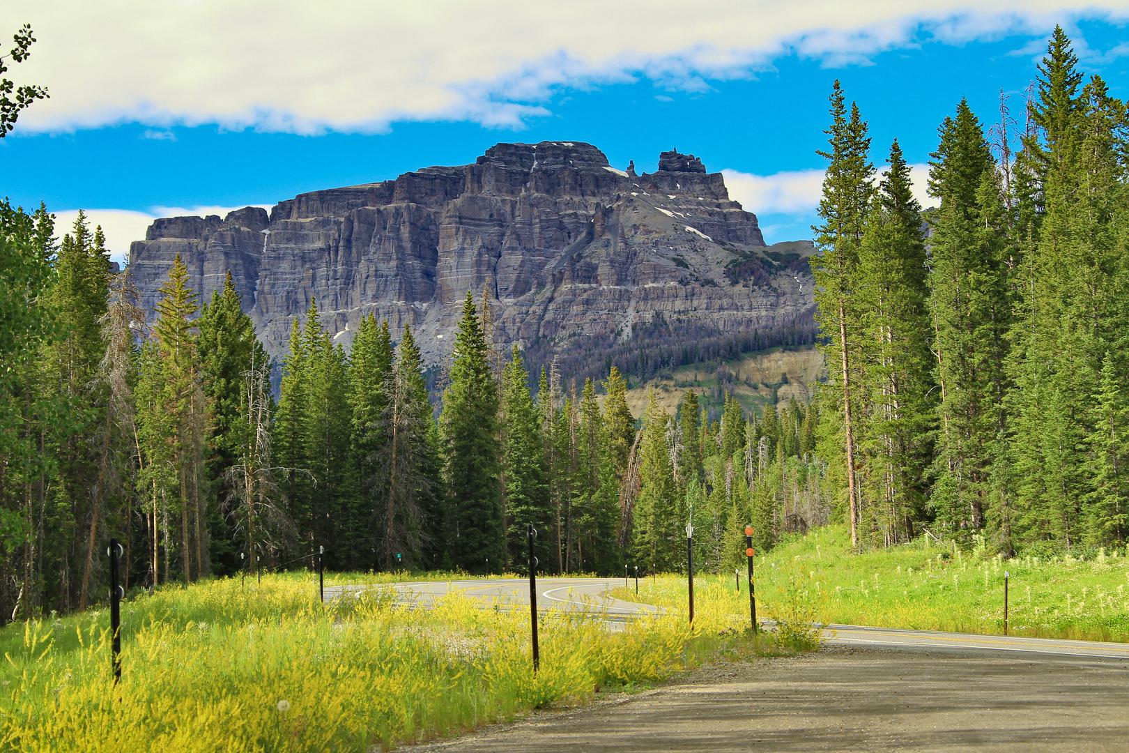 Route 287 zwischen Dubois und dem Teton National Park 2