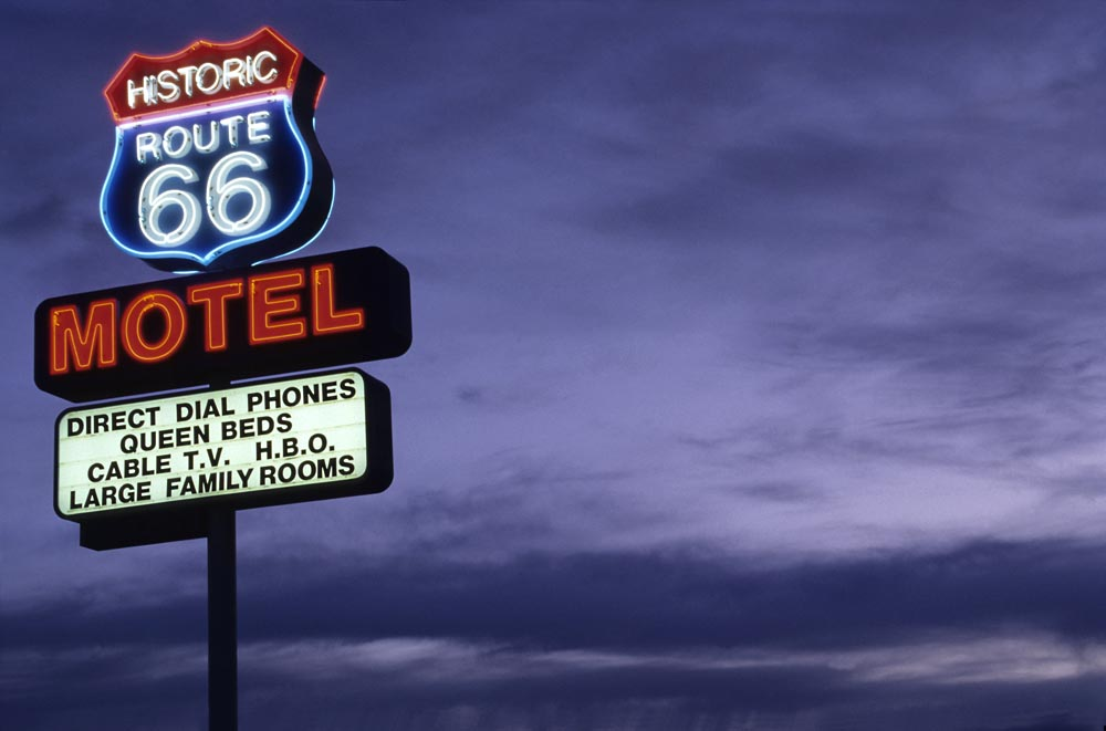 route 66 motel seligman foto bild north america. Black Bedroom Furniture Sets. Home Design Ideas