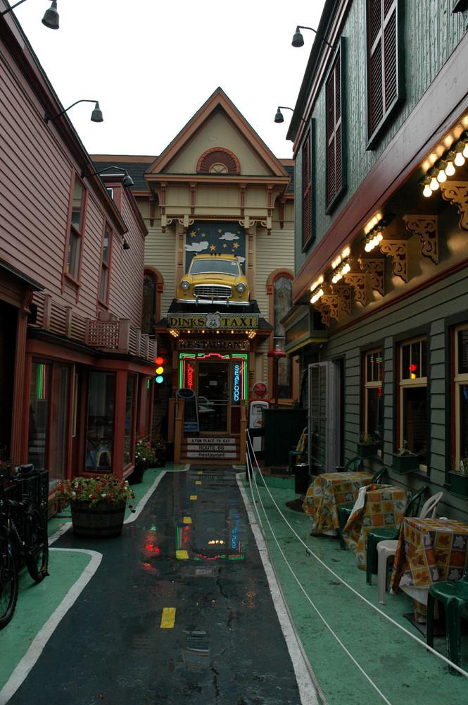 Route 66 Restaurant in Bar Harbor / Maine