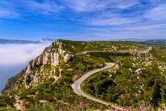 Route des Crêtes, Cassis, Provence, Frankreich