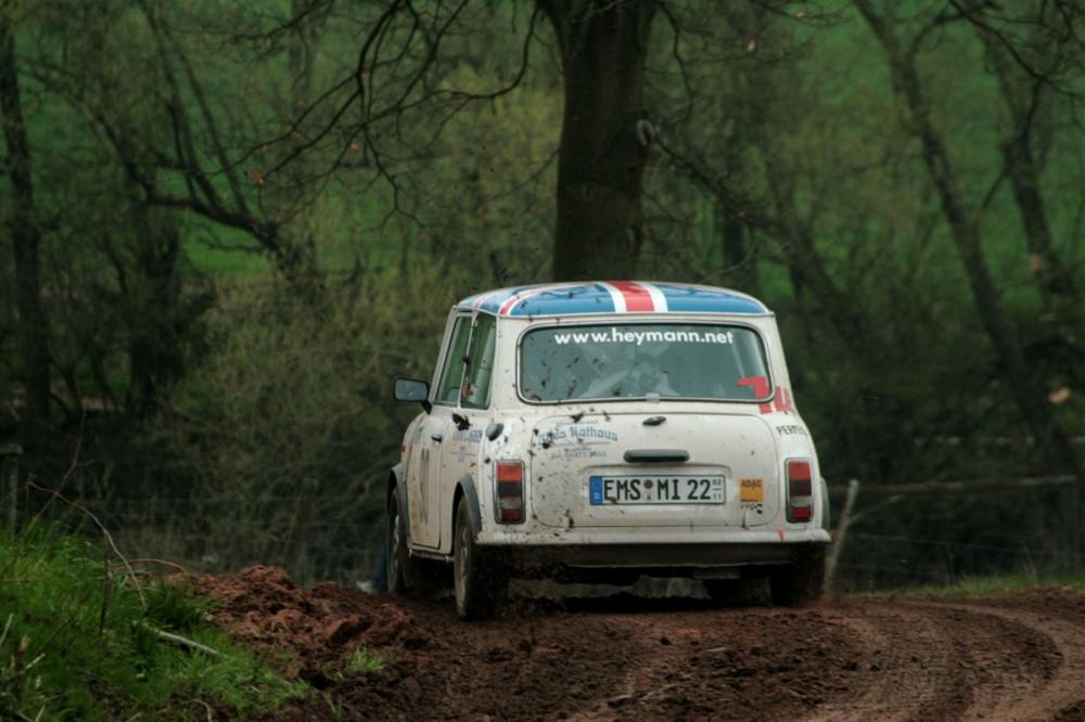 Rover Mini bei der ADAC Hessen Rallye Vogelsberg 2008
