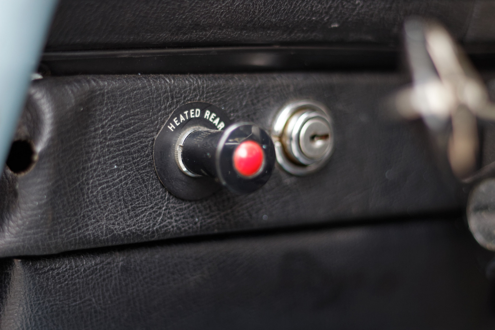 Rover P6 – Detail
