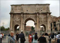 Rovine a Roma...Arco di Constantino.