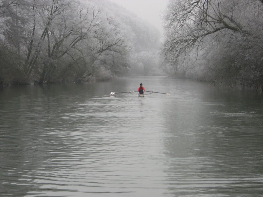 Rowing nothing else....
