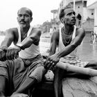 Rowing on Ganges river