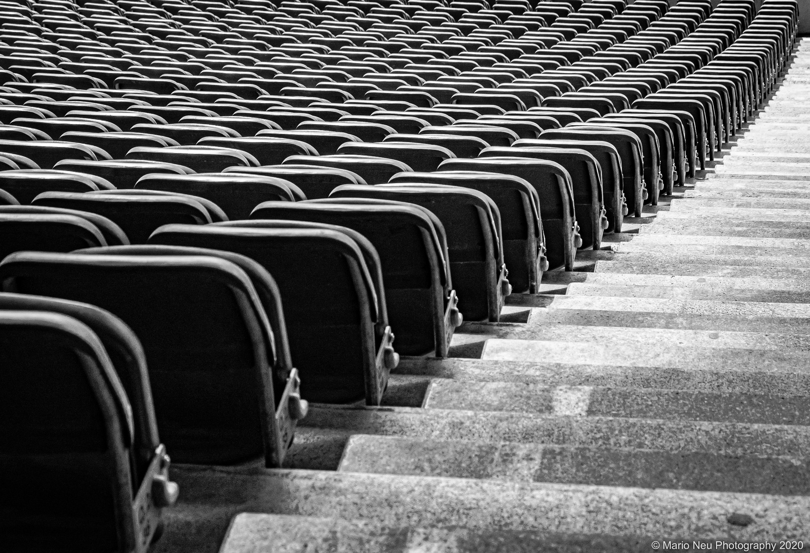Rows of seats in BNW
