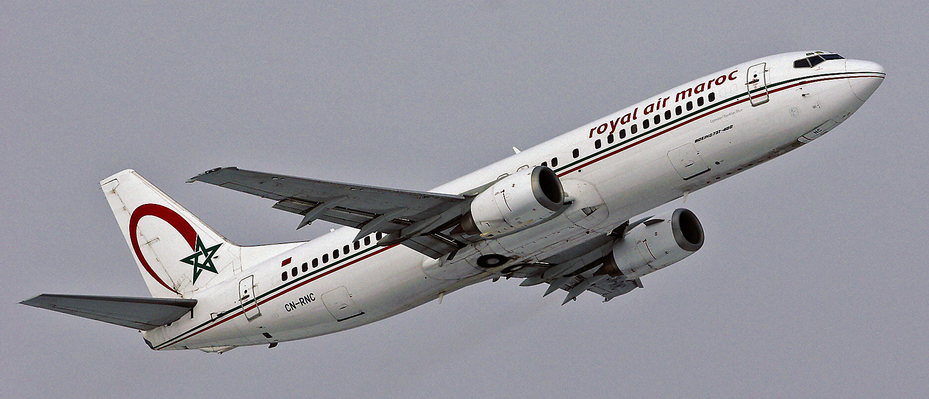 Royal Air Maroc / Operated by Atlas Blue