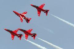 Royal Air Tattoo: Red Arrows