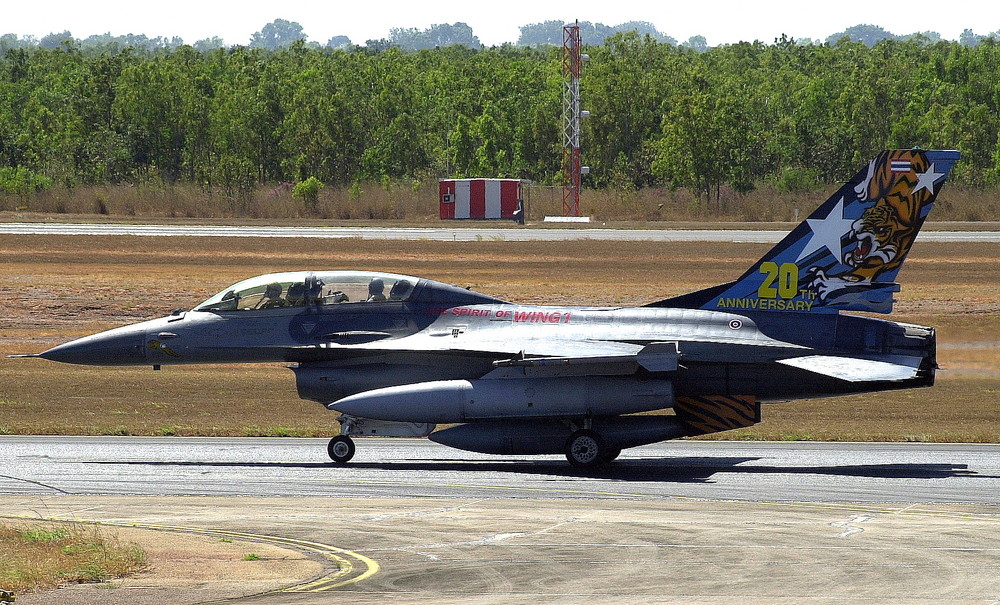 "RTAF F16 ""Spirit of Wing 1"", Ex. Pitch Black 2008"