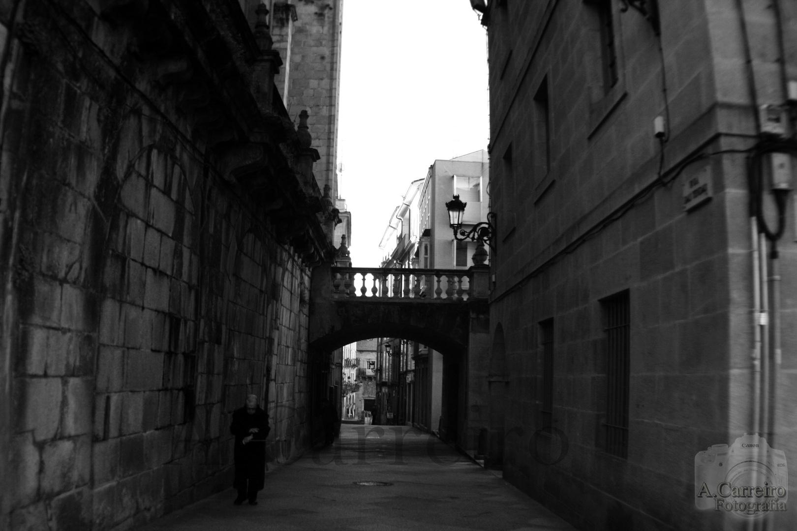 Rúa Casco Vello Ourense.