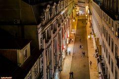 Rua do Carmo - Die Einkaufsstrasse in Lisboa