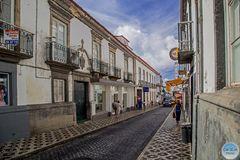 Rua Machado dos Santos - Einkaufsstrasse in Ponta Delgada