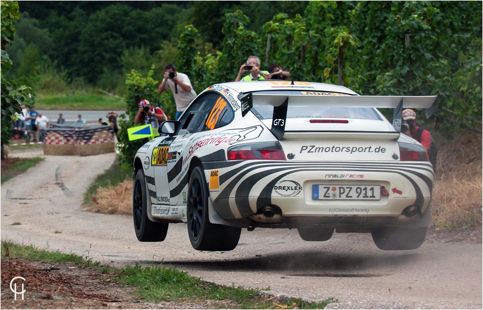 Ruben Zeltner - Porsche 996 GT3 - 30. ADAC WRC Rallye Deutschland 2012