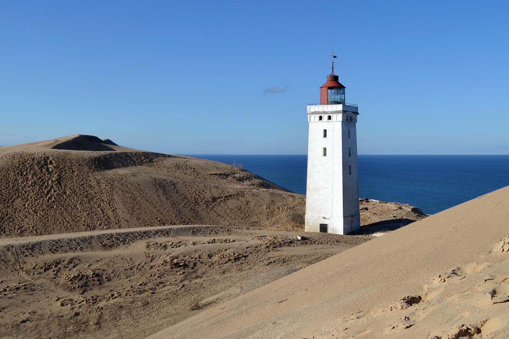 Rubjerg Knude Fyr - Leuchturm in Dänemark bei Lokken