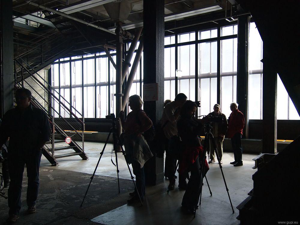 Rudelknipsen auf Zollverein