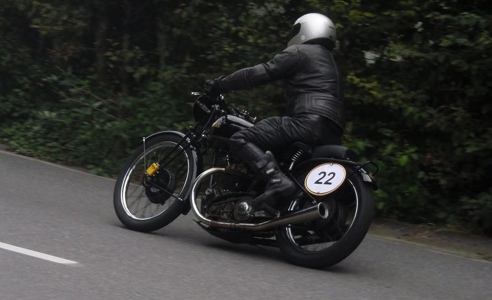 Rudge Beim Motorrad-Revival