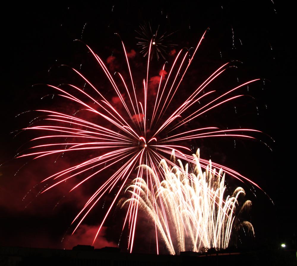 Rudolstädter Vogelschießen - Feuerwerk