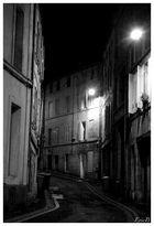 Rue allumée