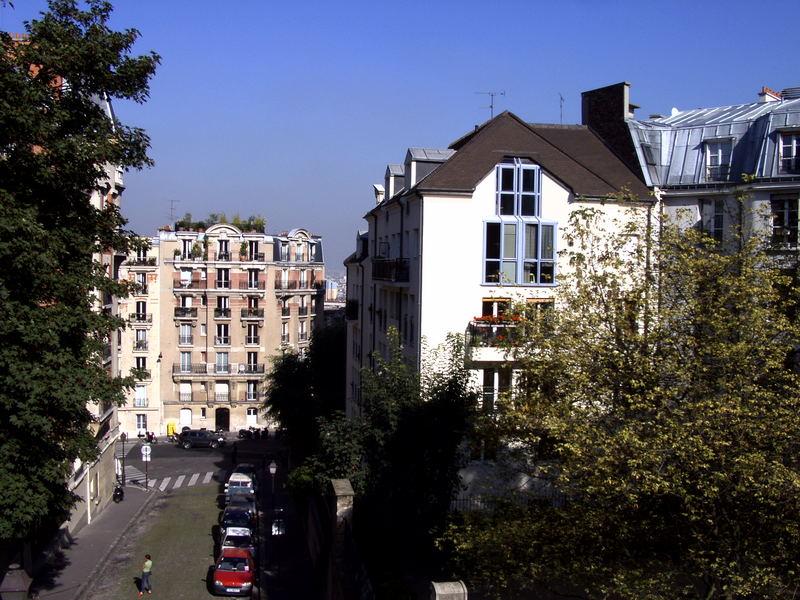 Rue de la Bonne am Montmartre