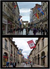 Rue de la Liberté - die imposanteste Einkaufsstraße von Dijon