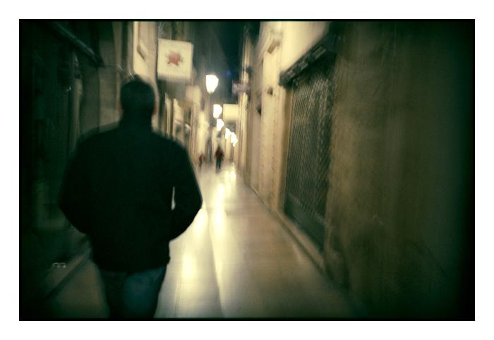 Rue le soir