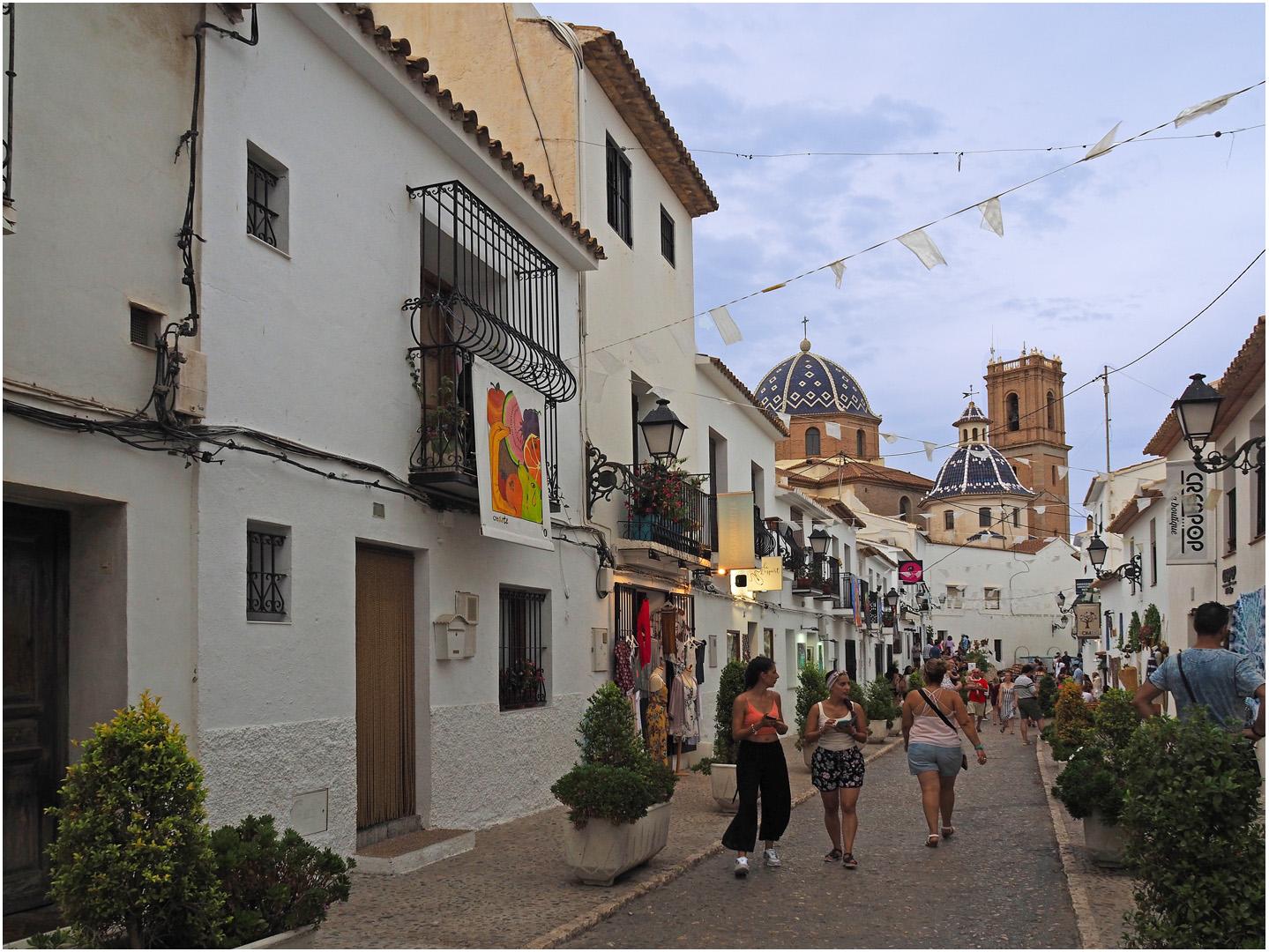 Rue San Miguel  --  Altea