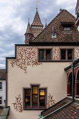 Rückansicht Basler Rathaus