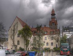 Rückansicht Rathaus