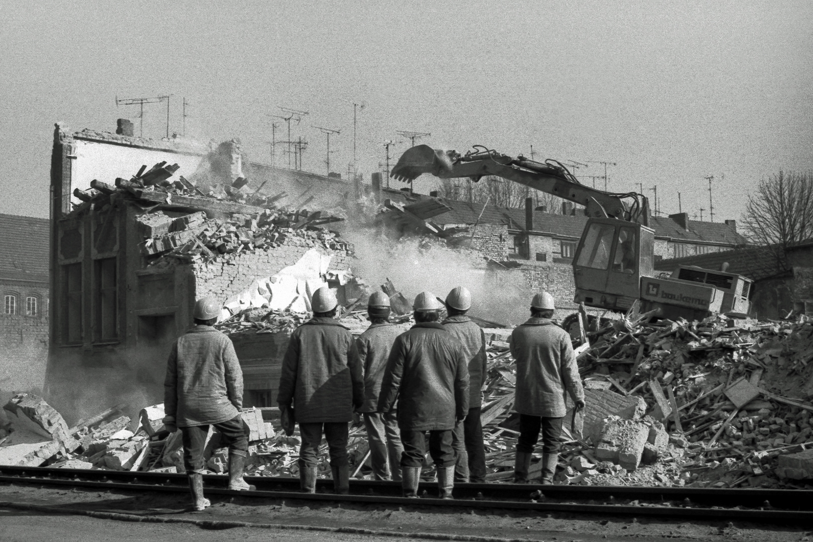 Rückblick: 1990 Sanierung Grubenstrasse in Rostock