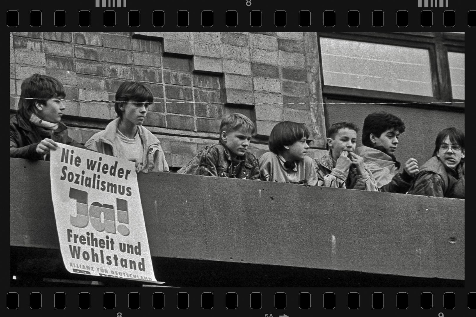 Rückblick: Allianz für Deutschland 1990