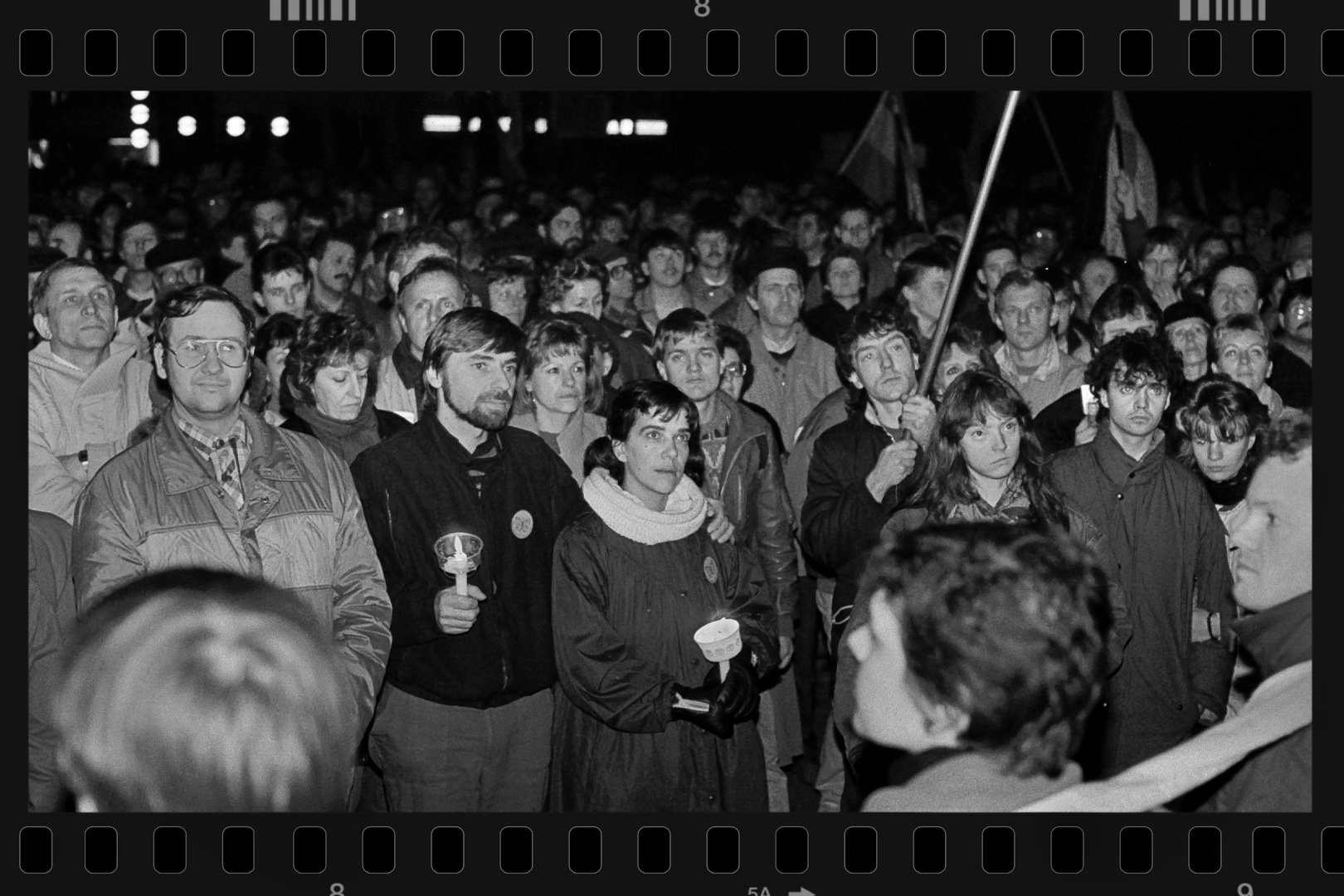 Rückblick: Mahnwache 1989 in Rostock