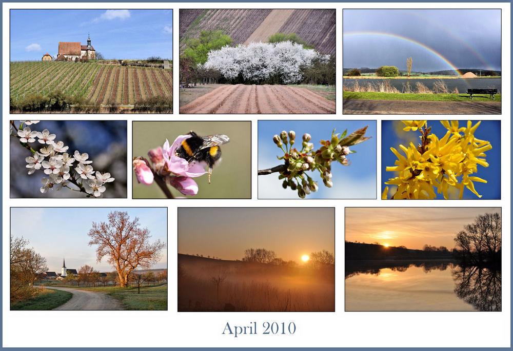 Rückblick...April