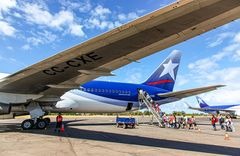 Rückflug nach Südamerika