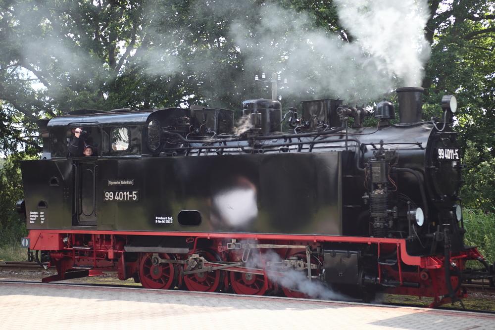 Rügenschen BäderBahn - Rasender Roland! 99 4011-5